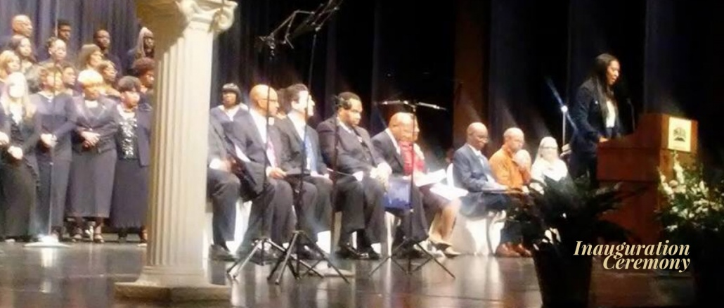 Pine Bluff, AR, Inauguration Ceremony, January 2017. Credit: Steven Mays, PB Council Member