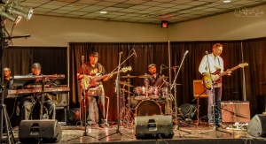 The Brian Austin Band performing at the Bobby Rush Tribute in Pine Bluff on November 30, 2018. Credit: Cindy Tutt Scaife Photography