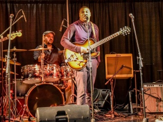 "The Brian Austin Band with Marcus ""Mookie"" Cartwright at the Bobby Rush Tribute on Friday, November 30, 2018, in Pine Bluff, AR. Credit: Cindy Tutt Scaife Photography"